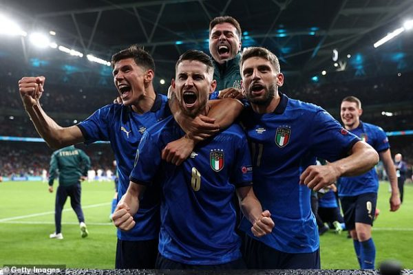 Chiellini reveals psychological game with Alba in Italy win over Spain.