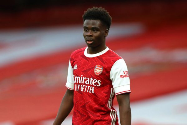 Cole believes Arsenal winger Bukayo Saka will cause problems