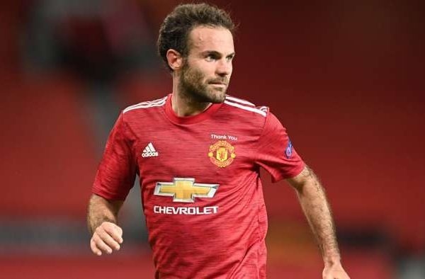 Mata the captain of the Manchester united supports the younger