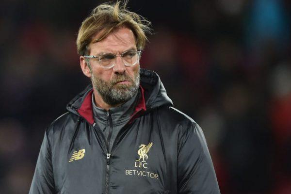 Liverpool head coach Jurgen Klopp